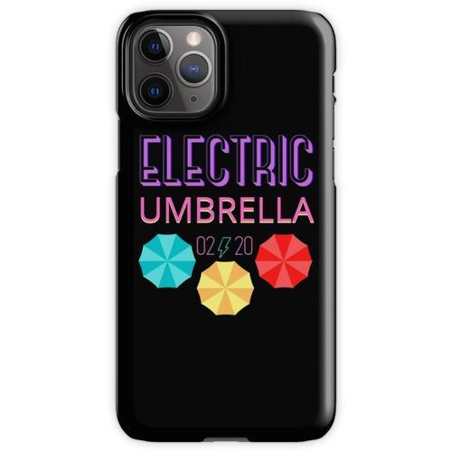 Elektrischer Regenschirm iPhone 11 Pro Handyhülle