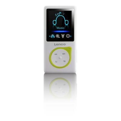 Lenco Xemio-668 MP3 Spieler Grün...