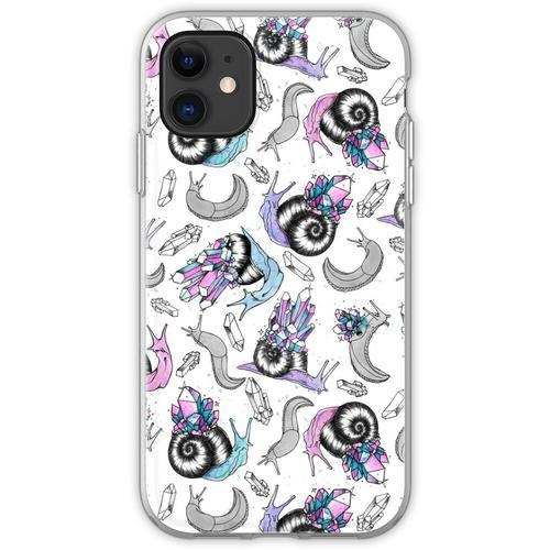 Kristallschnecken Flexible Hülle für iPhone 11