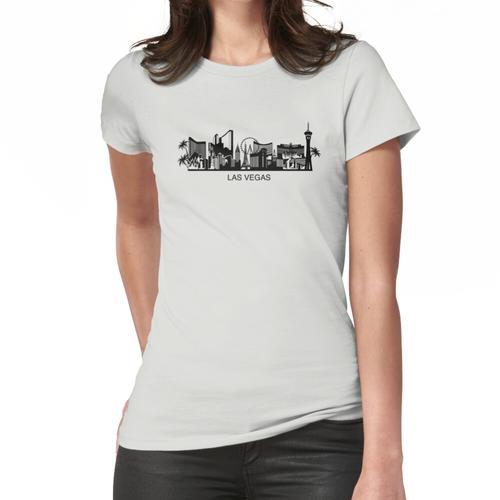 Las Vegas Cityline Kunst Frauen T-Shirt