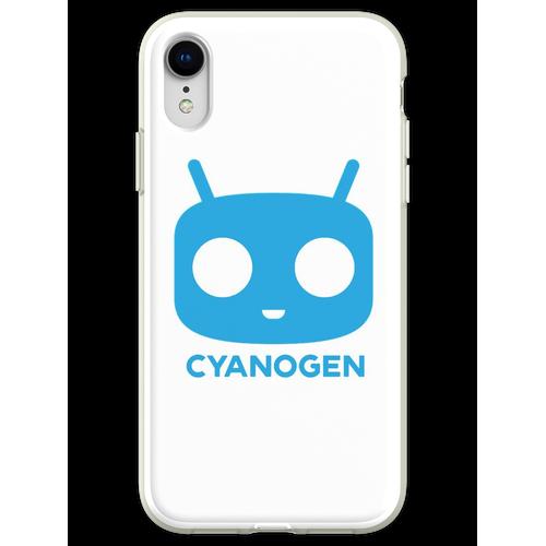 CyanogenMod Head Flexible Hülle für iPhone XR