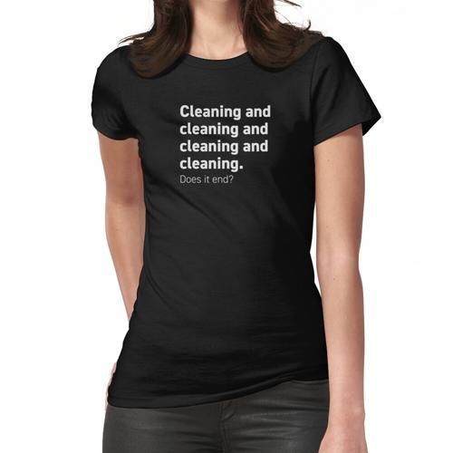 Reinigung und Reinigung und Frauen T-Shirt