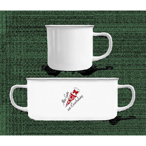 Alles Gute Zur Einschulung - Emaille-Tasse