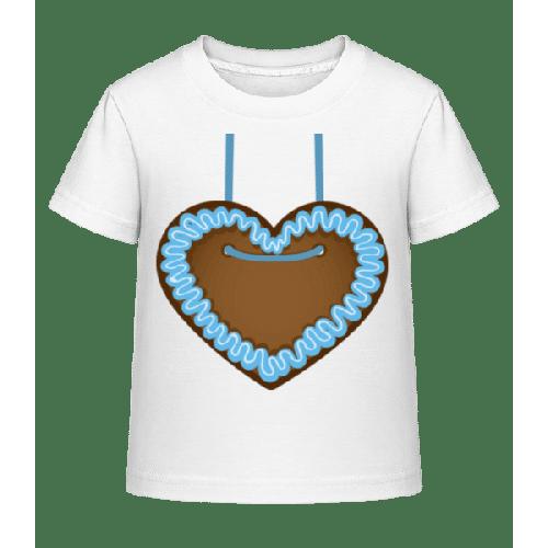 Lebkuchenherz Oktoberfest - Kinder Shirtinator T-Shirt