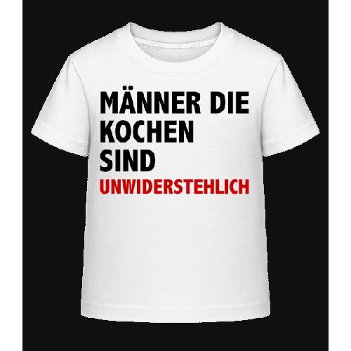 Köche Unwiderstehlich - Kinder Shirtinator T-Shirt