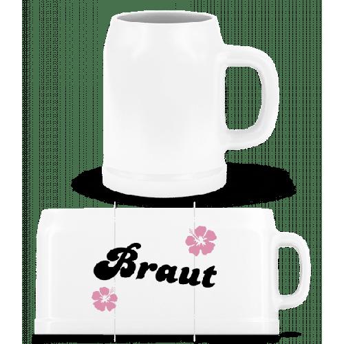 Braut - Bierkrug