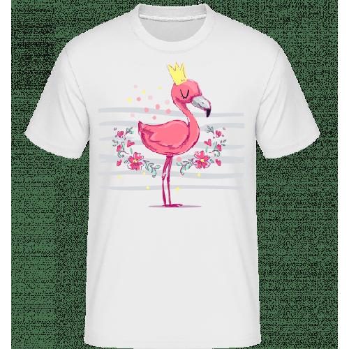Königlicher Flamingo - Shirtinator Männer T-Shirt