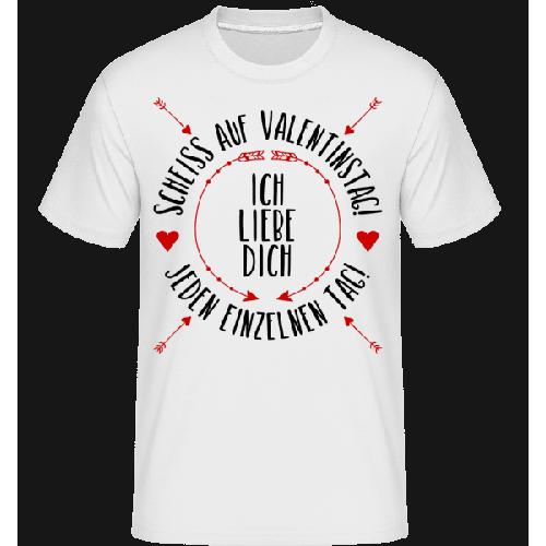 Liebe Dich Jeden Einzelnen Tag - Shirtinator Männer T-Shirt