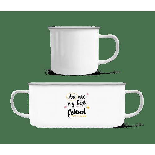 You Are My Best Friend - Emaille-Tasse