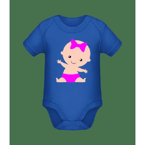 Baby Mädchen - Baby Bio Strampler