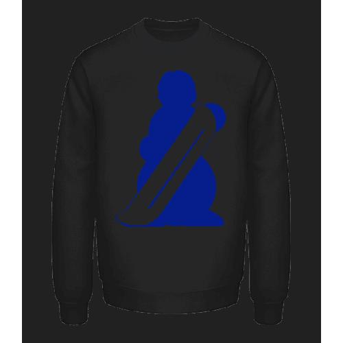Snowboard Schneemann - Unisex Pullover