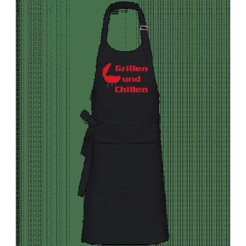 Grillen Und Chillen - Profi Kochschürze