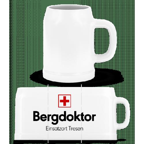 Bergdoktor Einsatzort Tresen - Bierkrug