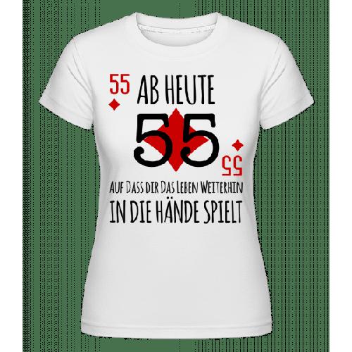 Schnapszahl 55 - Shirtinator Frauen T-Shirt