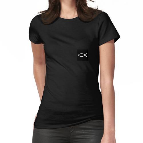 Jesus Fischsymbol Frauen T-Shirt