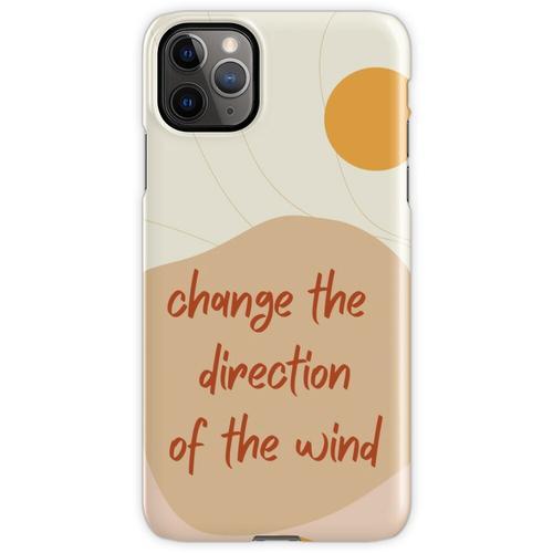Ändern Sie die Windrichtung iPhone 11 Pro Max Handyhülle