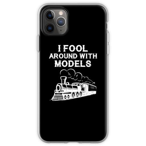 Züge Eisenbahn Lokomotive Eisenbahner Geschenk Flexible Hülle für iPhone 11 Pro Max
