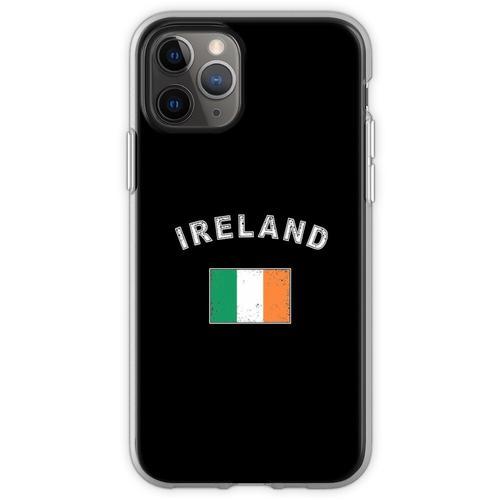 Irland irisch Flagge Fahne Flexible Hülle für iPhone 11 Pro
