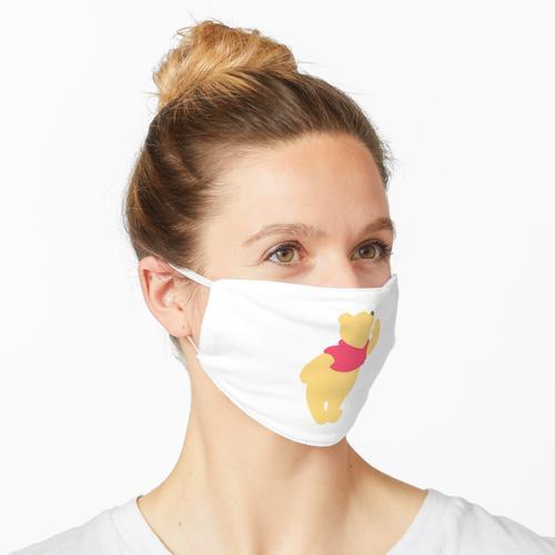 Gelber Bär Maske