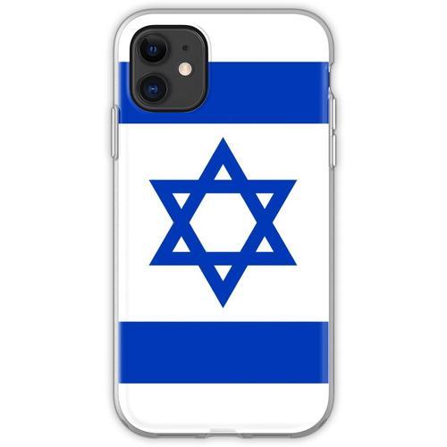 Israelische Flagge Israelischer Patriot Flexible Hülle für iPhone 11