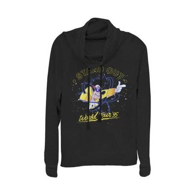 Goofy Movie Black Junior's Licensed Disney Above The Crowd Pullover Top