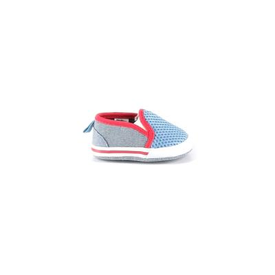 Stepping Stones Booties: Blue Shoes - Size 3-6 Month