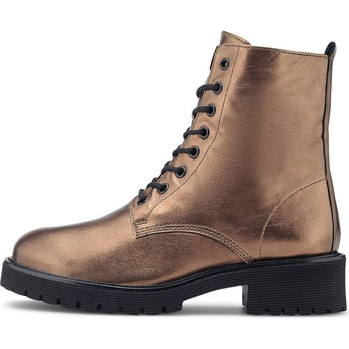 Högl, Metallic-Boots in bronze, Boots für Damen Gr. 37 1/2
