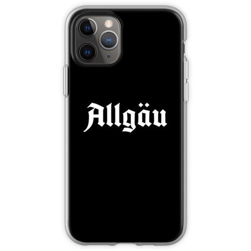 Allgäu Schriftzug - Allgäu Design - Allgäu für Allgäuer Flexible Hülle für iPhone 11 Pro
