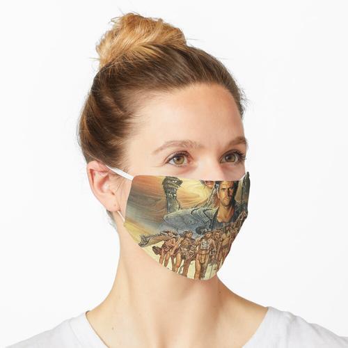 primitives Plakat Maske