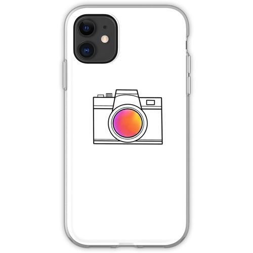 eine einfache Kamera Flexible Hülle für iPhone 11