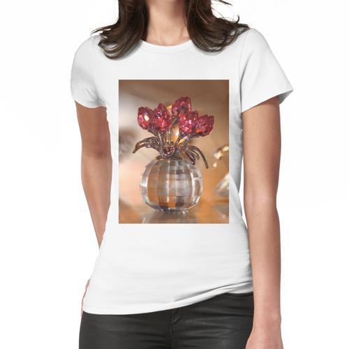 Kristallblumen Frauen T-Shirt