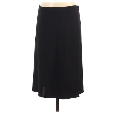 DKNY Casual Skirt: Black Solid Bottoms - Size Small