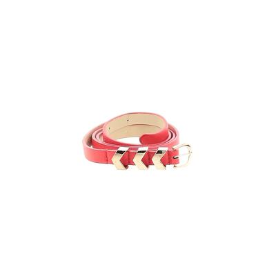 RW&CO Belt: Red Solid Accessorie...