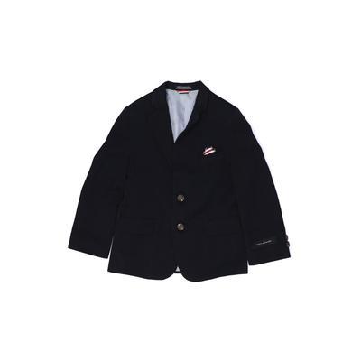 Tommy Hilfiger Blazer Jacket: Blue Jackets & Outerwear - Size 5