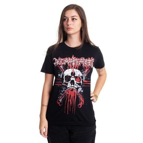 Decapitated - XX Skull - - T-Shirts