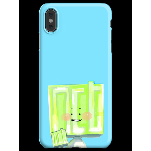 Neobong hält Neobong iPhone XS Max Handyhülle