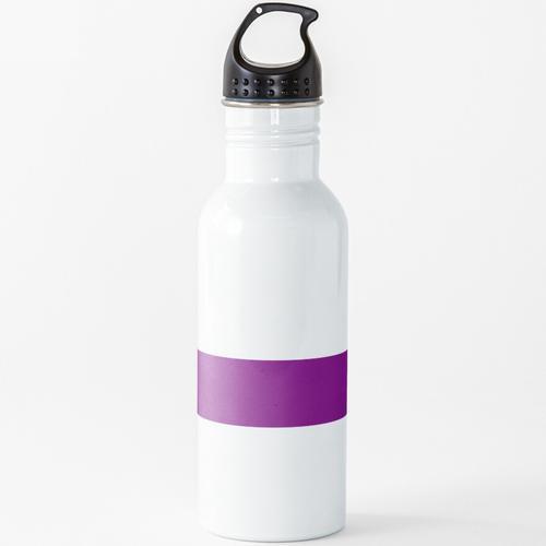 BJJ Lila Gürtel Wasserflasche