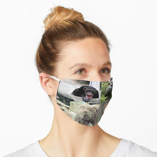 Columbus Zoo Maske
