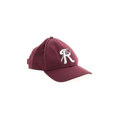 Assorted Brands Baseball Cap: Burgundy Accessories