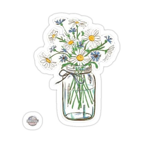 cute flower sticker :) Sticker