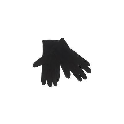 St. John's Bay Gloves: Black Sol...