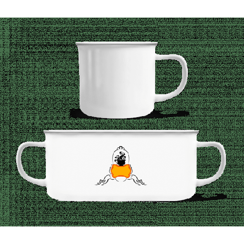 Coffee Logo - Emaille-Tasse