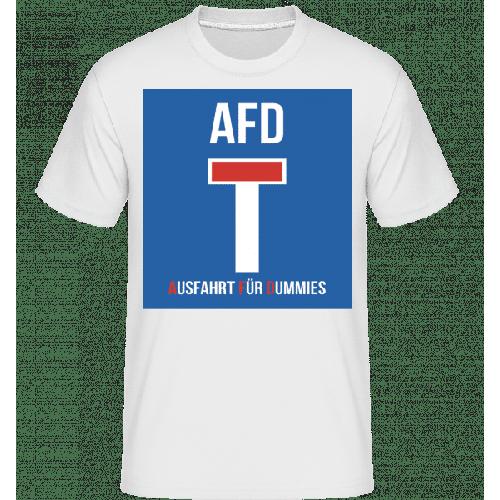 AFD Sackgasse - Shirtinator Männer T-Shirt