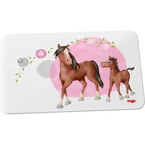 HABA Brettchen Pferde, bunt