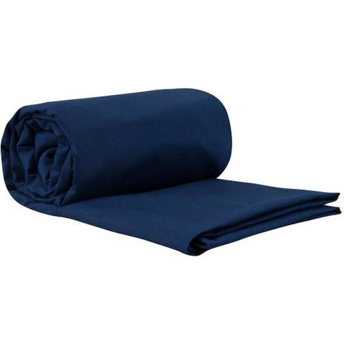 SEA TO SUMMIT Schlafsack Premium Cotton Travel Liner - Long (Rectangular) Navy Blue, Größe - in Navy Blue