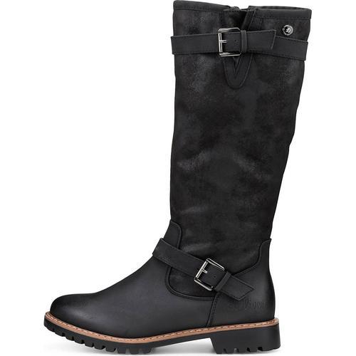 s.Oliver, Winter-Stiefel in schwarz, Stiefel für Damen Gr. 38