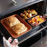 Copper King Mini Baking Trays Se...