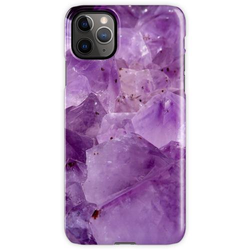 lila Kristallenergie iPhone 11 Pro Max Handyhülle