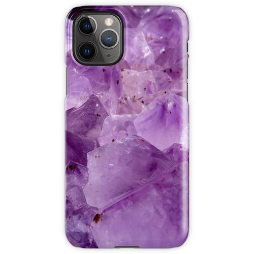 lila Kristallenergie iPhone 11 Pro Handyhülle