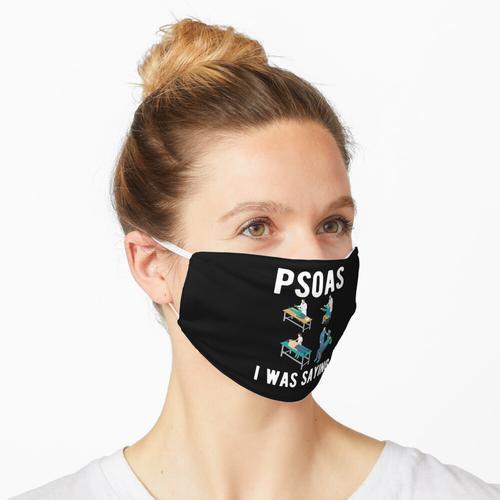Rückenschmerzen Maske